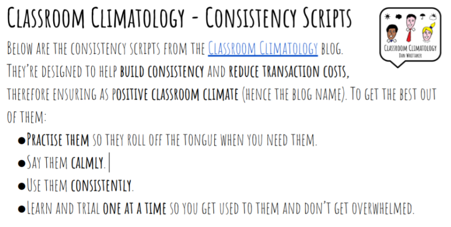 CC - Consistency Scripts Front Page