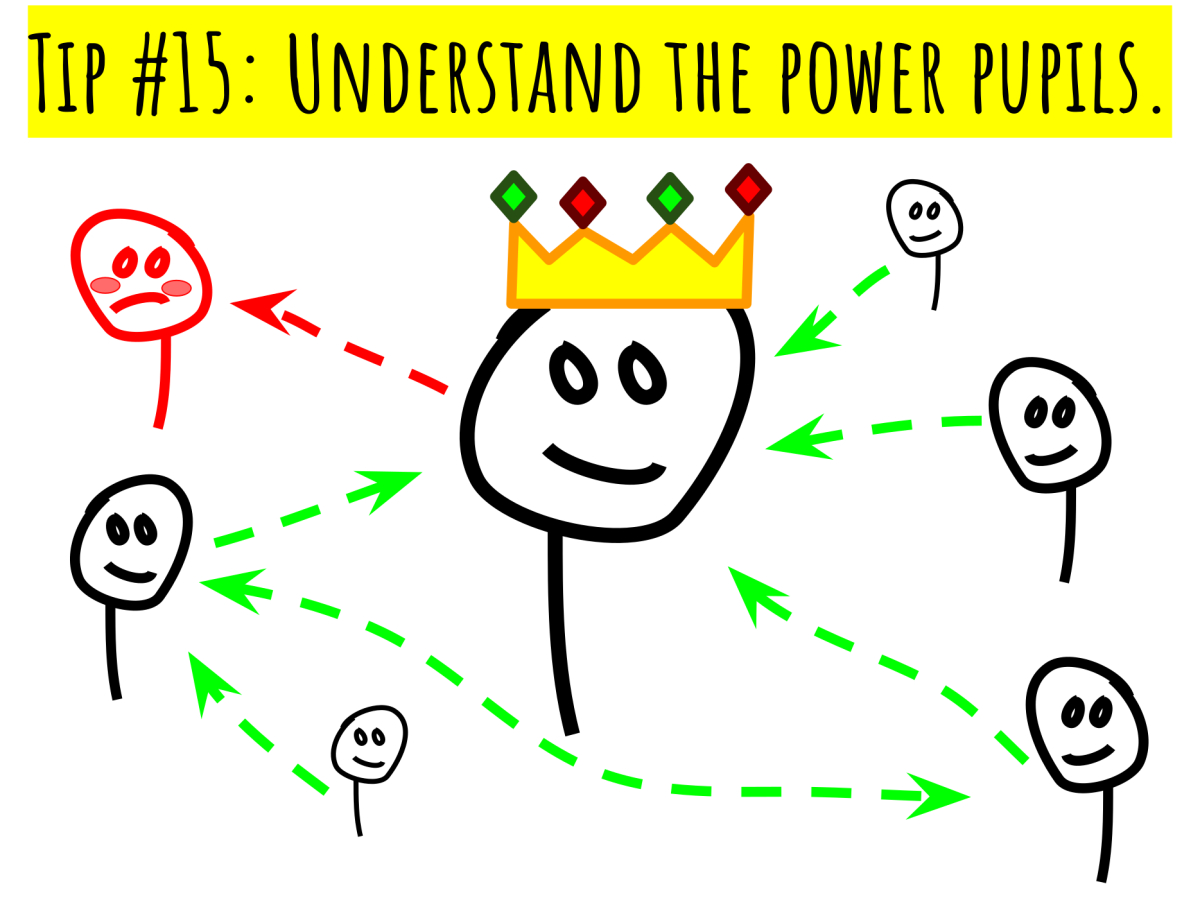 Tip #15: Understand the power pupils.