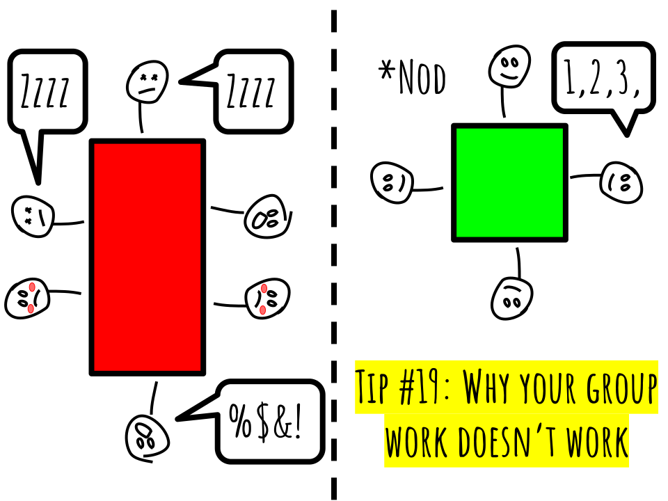 Tip #19: Why your group work doesn't work